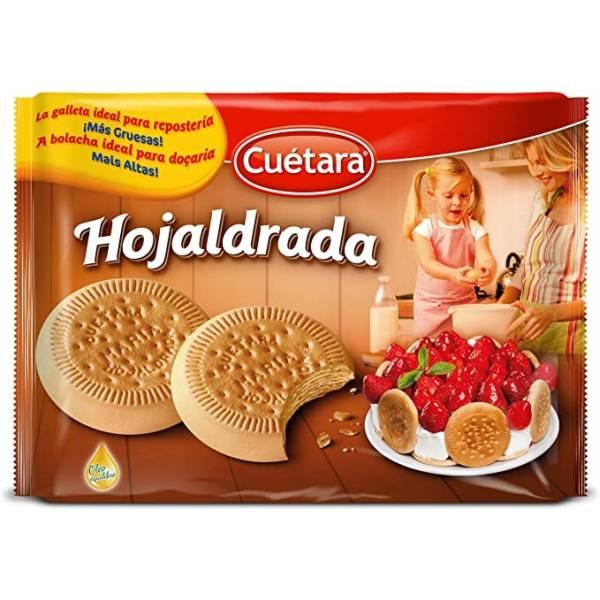 GALLETA  HOJALDRADA CUETARA