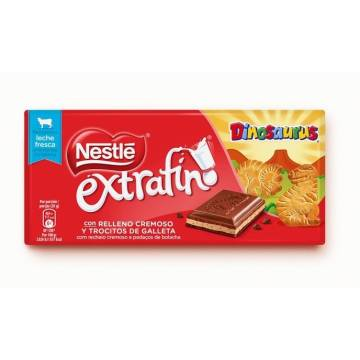 CHOCOLATE CON LECHE DINOSAURUS 120G NESTLÉ