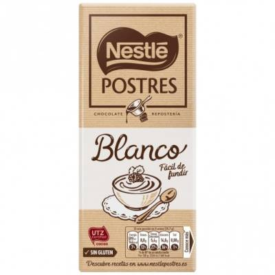 WHITE FONDANT CHOCOLATE 180G NESTLÉ