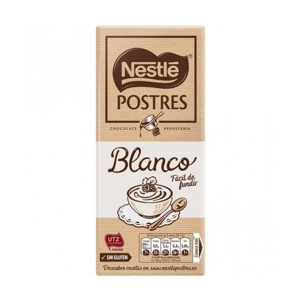 CHOCOLATE BLANCO PARA REPOSTERIA 180G NESTLÉ