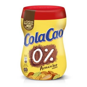 COLACAO 0% AZÚCARES AÑADIDOS  300G