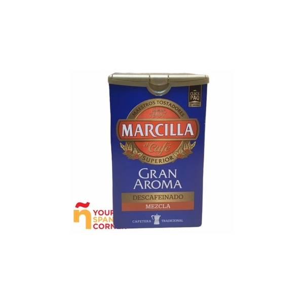 CAFÉ MOLIDO MEZCLA DESCAFEINADO GRAN AROMA 200G MARCILLA