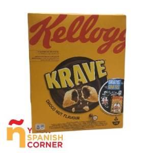 Cereales Krave Kellogg's 375g.