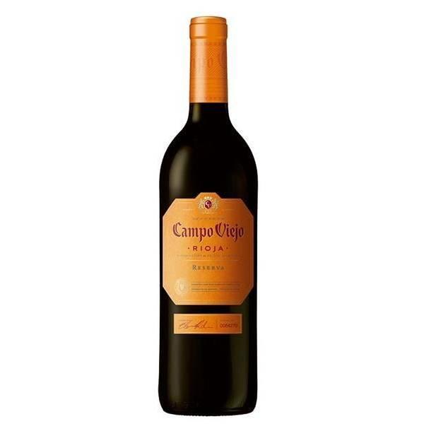 Vin rouge Campo Viejo Reserva D.O. Rioja 75cl.